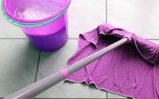 Detergenti e strofinacci